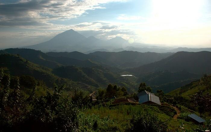 The 8 Virunga Volcano Mountains